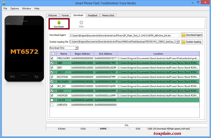 Download Android Scatter File MTK
