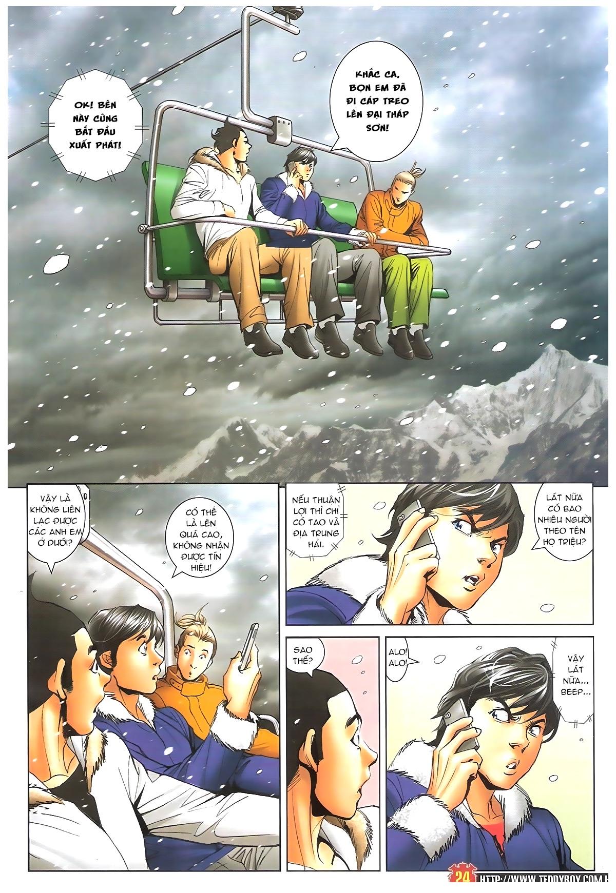 Người Trong Giang Hồ - Chapter 1612: Thần nhân tương ngộ - Pic 21