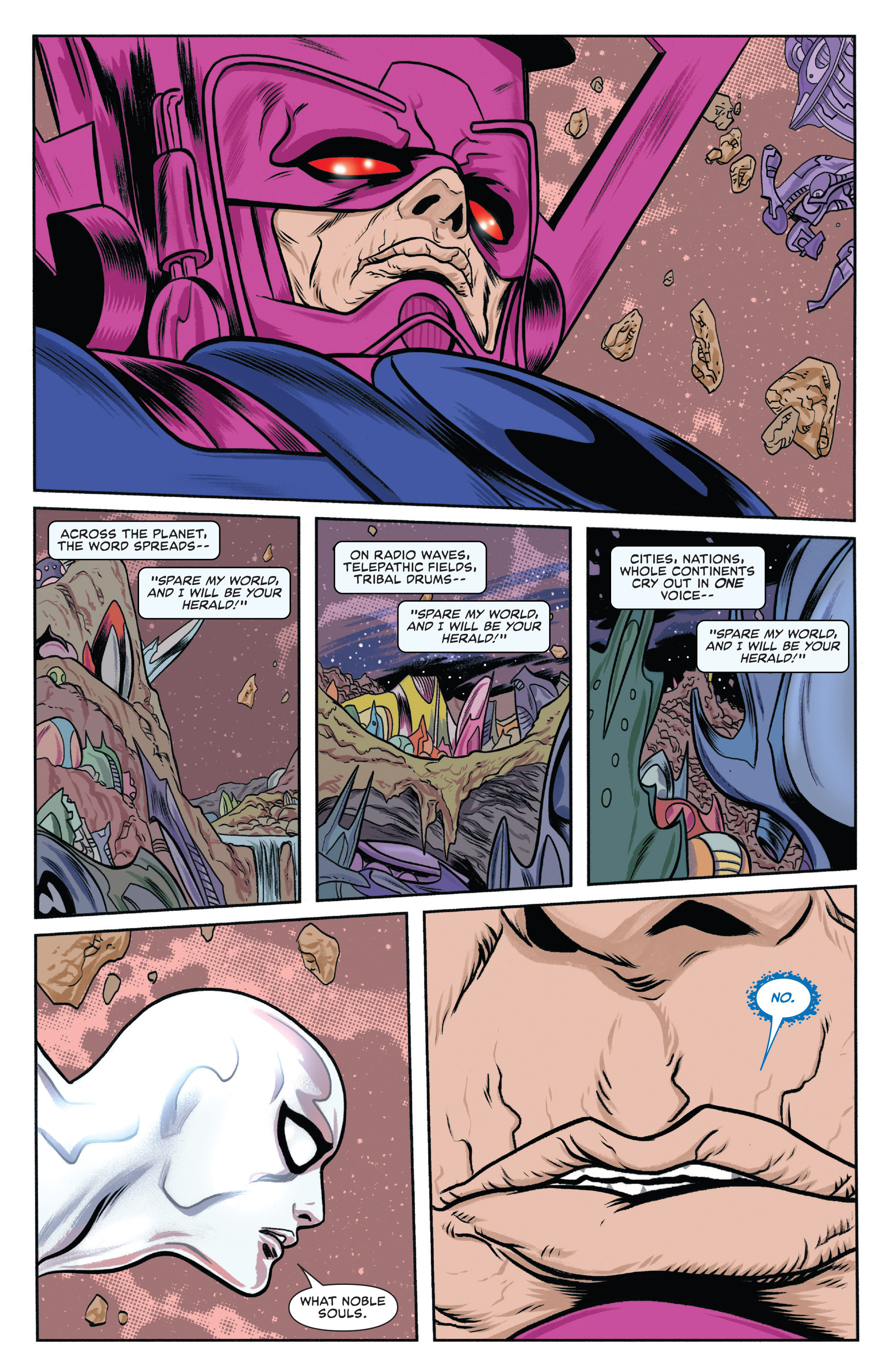 Read online Silver Surfer (2014) comic -  Issue #10 - 10