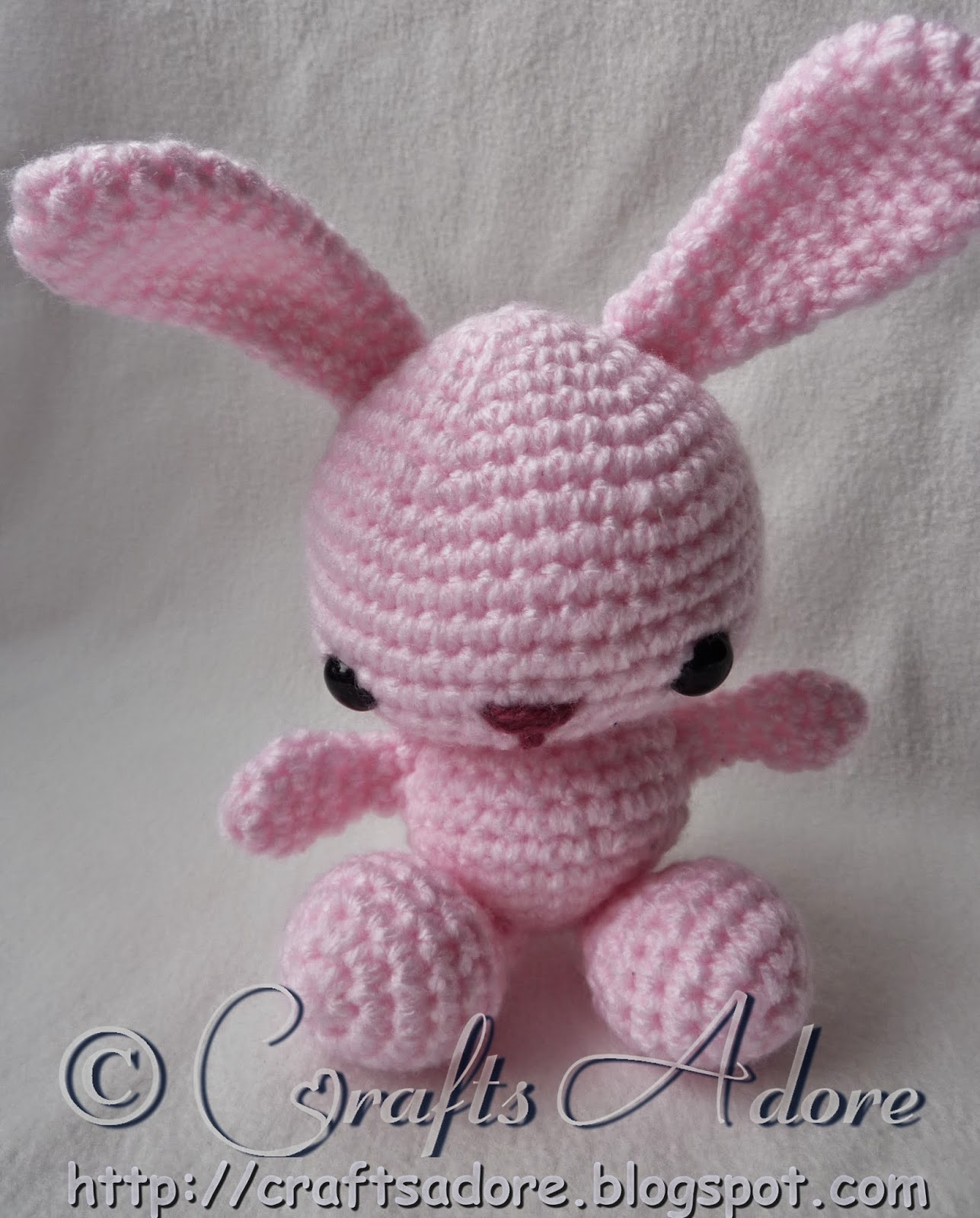 Bunny Beanie with Ears Free Crochet Pattern for Easter | 1600x1287