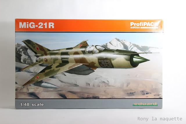 Mig-21R Eduard 1/48.