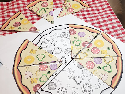Mache die Bruchrechnung verständlich indem du sie mit Pizzastücken greifbar visualisierst.