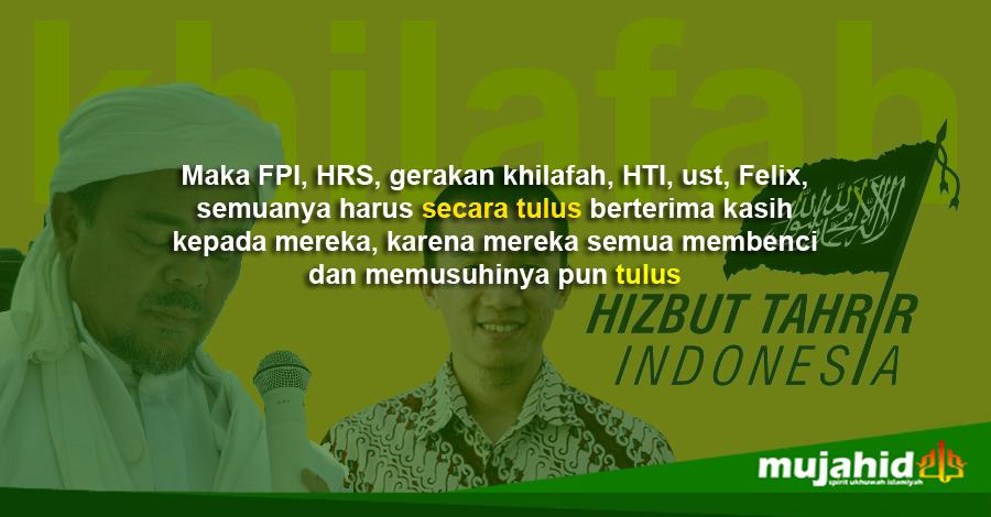 Dalang Di Balik Tenarnya Khilafah, HTI, HRS dan Felix Siauw