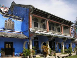 Tempat Wisata Sejarah di Penang : Cheong Fatt Tze Mansion