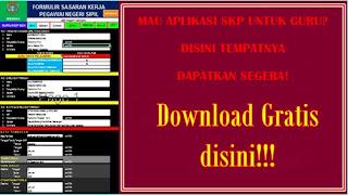 download aplikasi SKP lengkap dengan pedoman penggunaannya