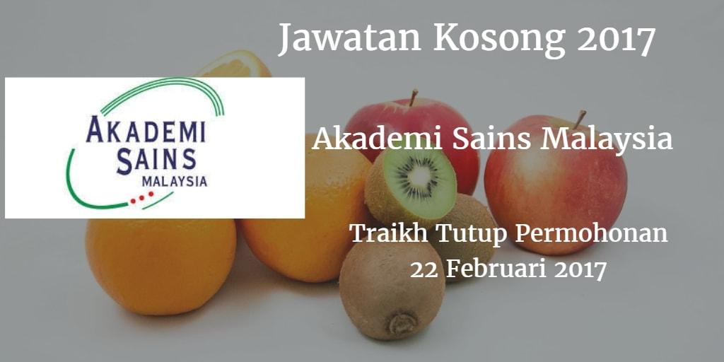 Jawatan Kosong ASM 22 Februari 2017
