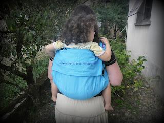 evolubulle néobulle test avis porte-bébé chinois tissu écharpe portage sergé bambin bébé porte-bébé
