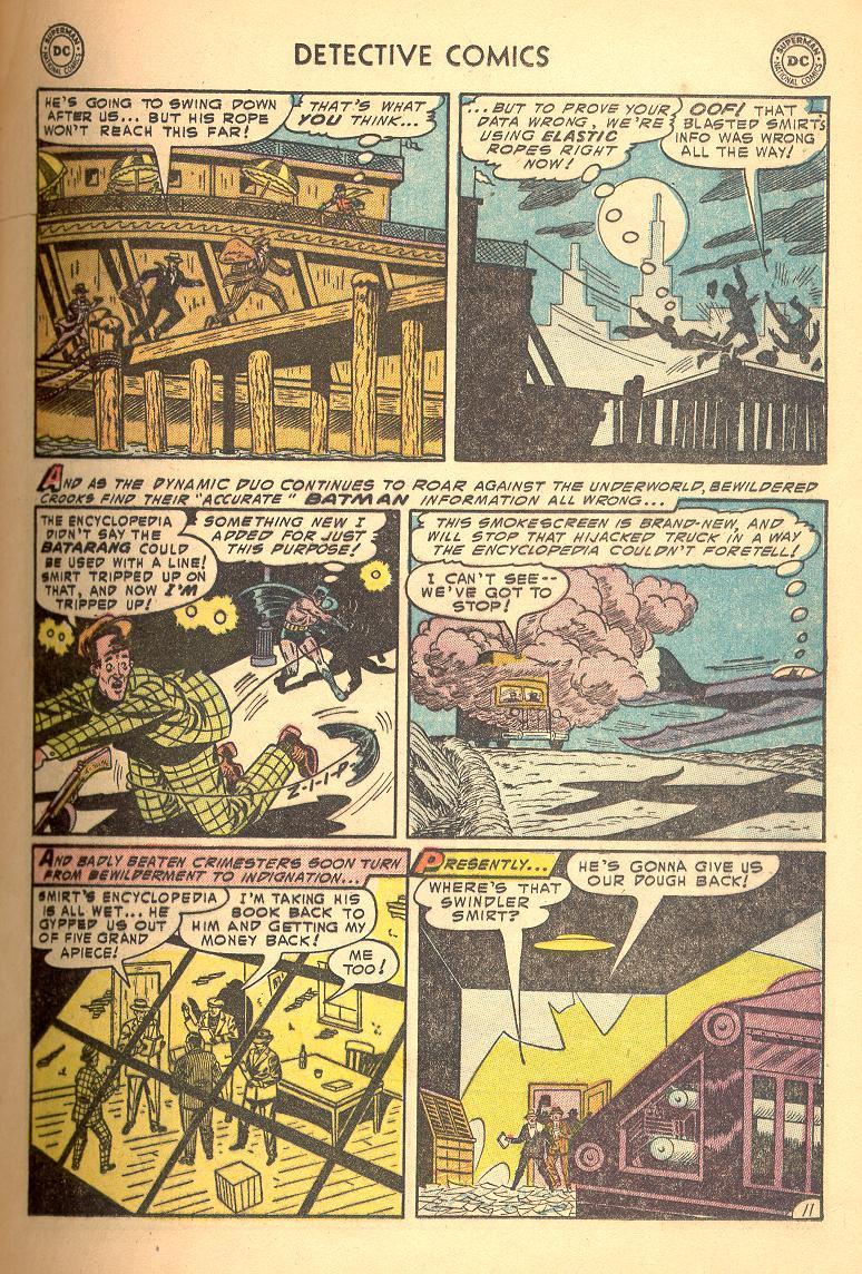 Read online Detective Comics (1937) comic -  Issue #214 - 13