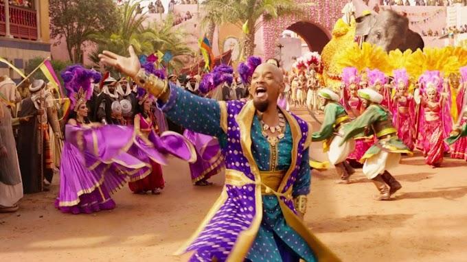 La twitera Nads lo ha hecho, la cancion del Principe de Bel Air sobre el genio de Aladdin.