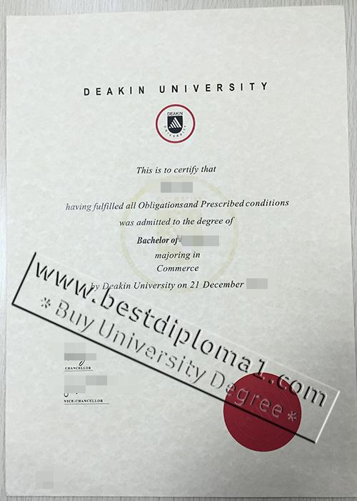 buy Deakin diploma