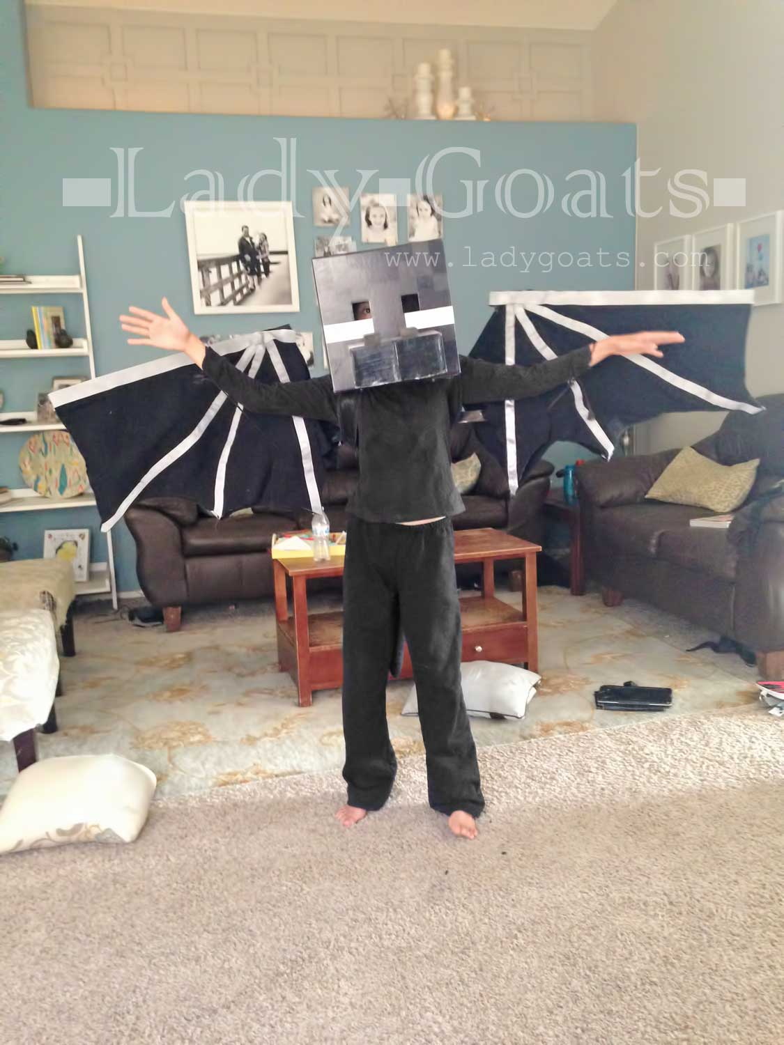 Lady Goats Updated Diy Ender Dragon Costume