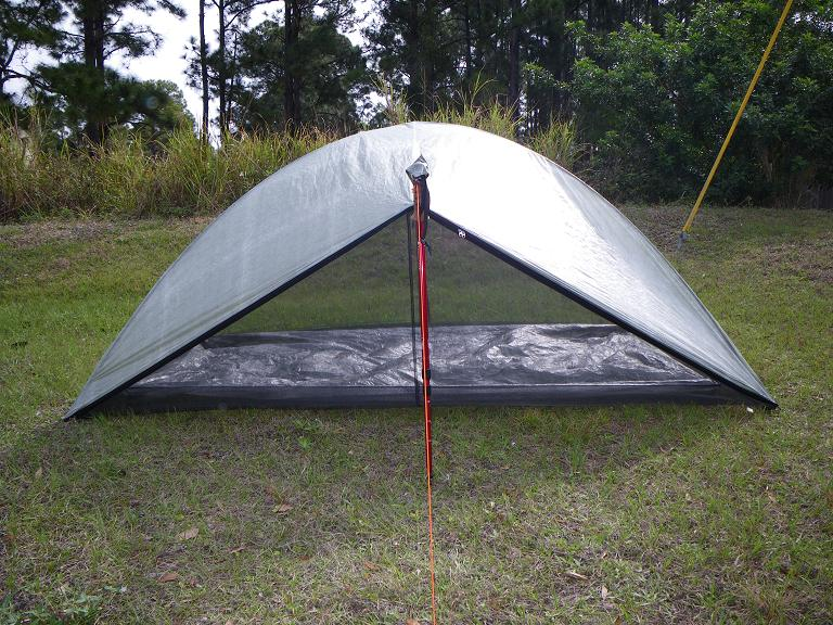 LIGHT & ULTRALIGHT BACKPACKING: Shhhhh. Zpacks Hexadome Tent