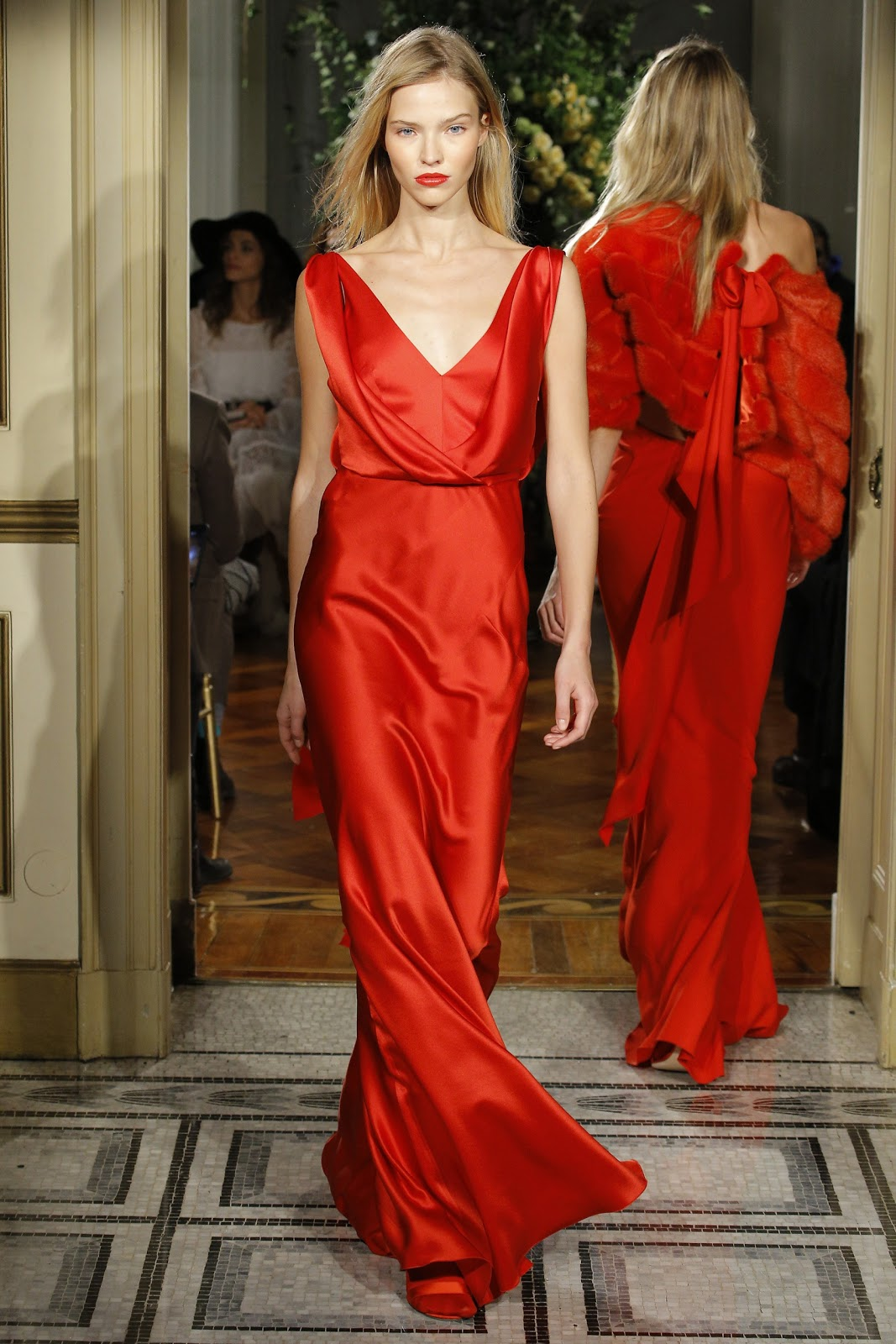 The Charming Red Evening Dresses