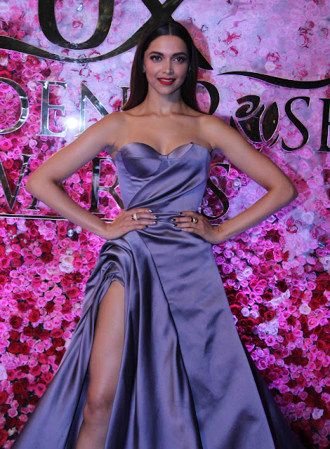 Deepika paudkone at Lux golden rose Awards