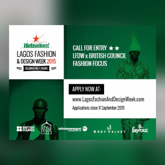 @LFDW_NG LAGOS FASHION DESIGN CONTEST. APPLY NOW