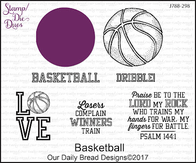 Stamp/Die Duos: Basketball