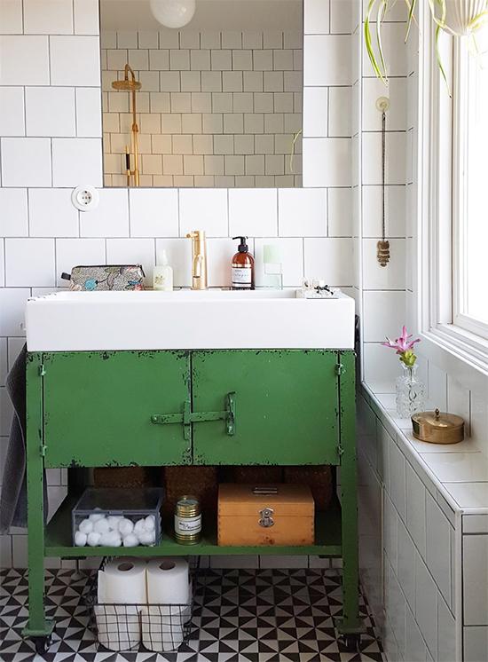 banheiro industrial chique, banheiro decorado, banheiro, decor, decoração