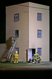 firefighting training building burn building