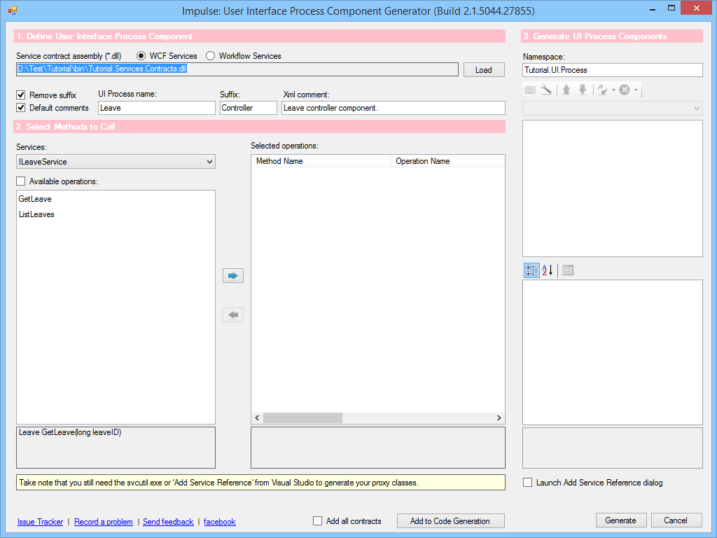 How-To: Create UI Process Components with Impulse in LASG