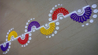 rangoli border designs patterns