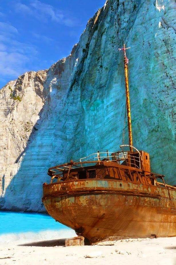 Navagio Beach Ship