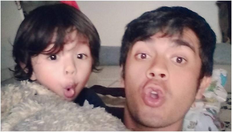 Bryan McKenzie dan anaknya, Arjuna
