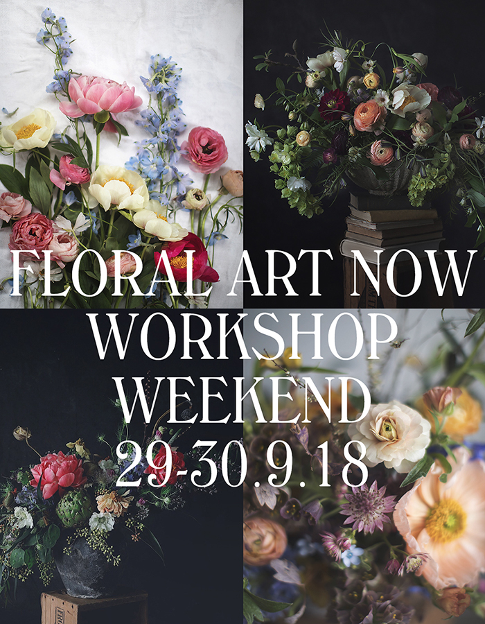 floral art now flower workshop weekend photo by Kreetta Järvenpää