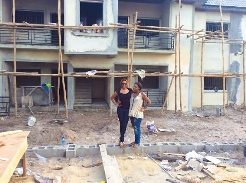 Photo: Actress Chika Ike Ventures Into Real Estate Business
