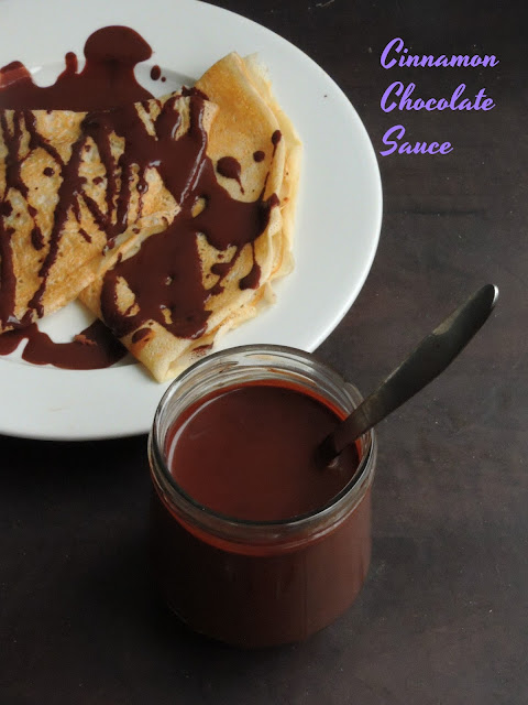 Spiced Cinnamon Chocolate Sauce