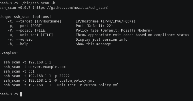Ssh Scan A Prototype Ssh Configuration And Policy
