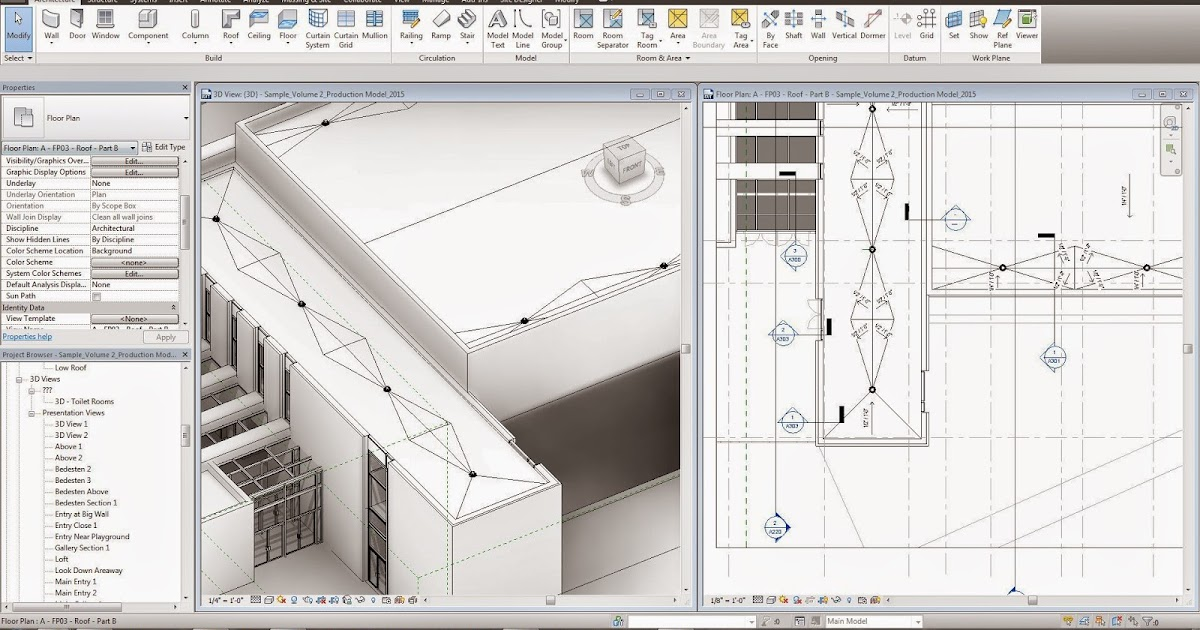 Revit Tutorial Flat Roof Crickets And Documentation