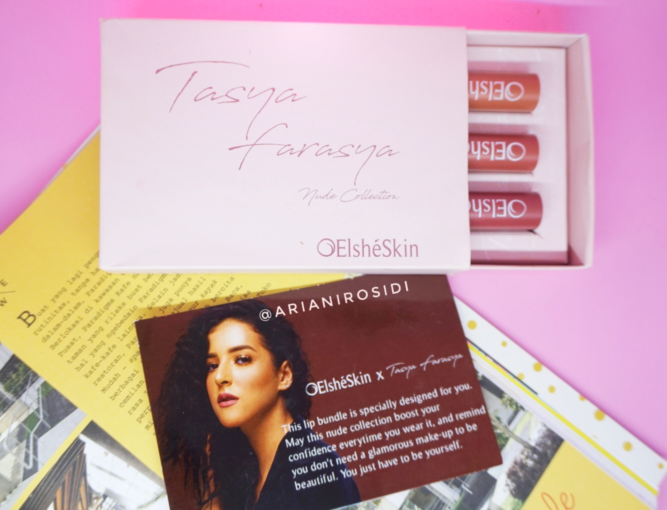 ELSHESKIN X TASYA FARASYA NUDE COLLECTION REVIEW