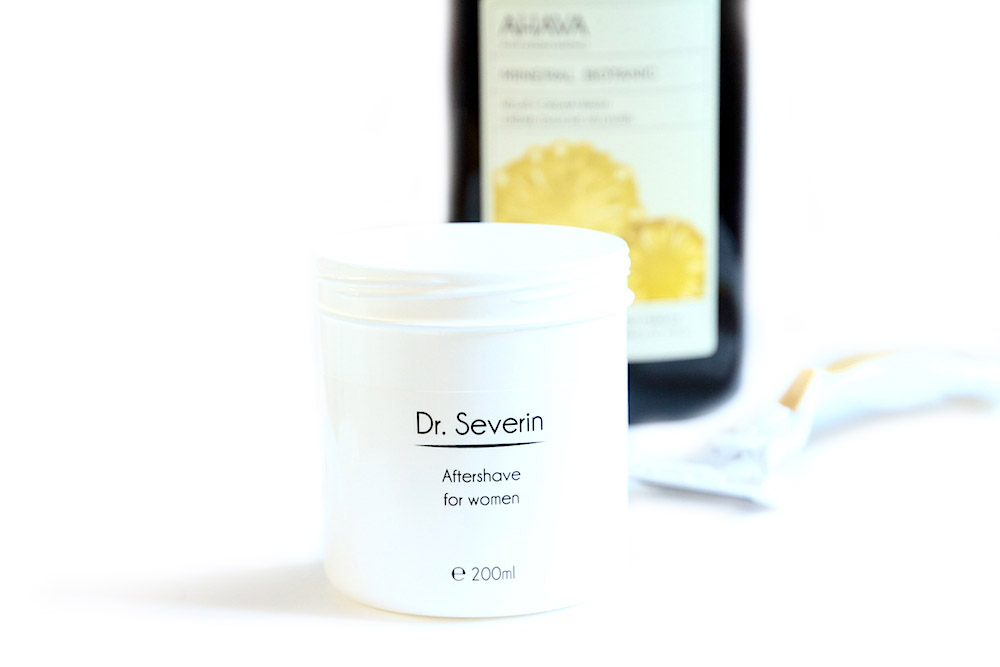 dr severin after shave for woman après rasage femme avis test