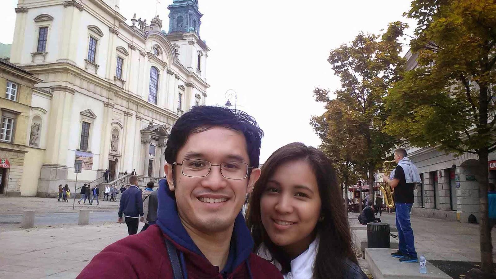 Selfie at Krakowskie Przedmiescie