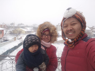 Menikmati Salju di Turki