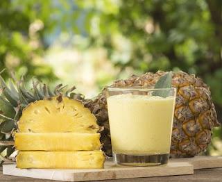 Sirop pour la toux et l'inflammation fait maison à l'ananas