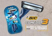 Amostra Grátis BIC Comfort3 barbeiamelhorpormaistempo.com.br