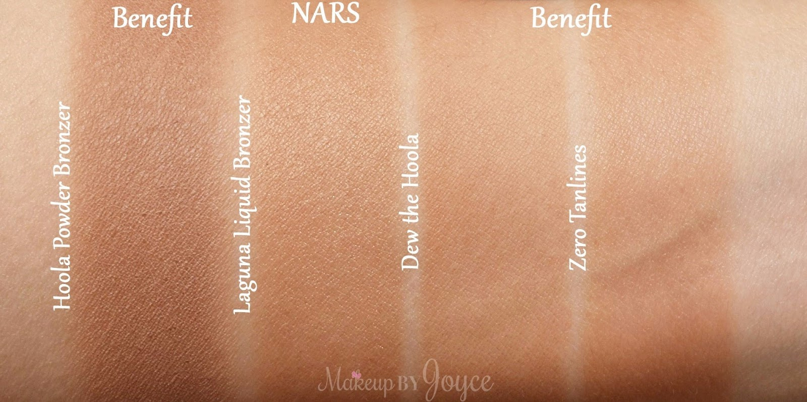 MakeupByJoyce ** !: Swatches + Comparisons: Benefit ...