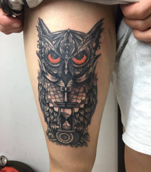 110+ Cute Owl Tattoos Ideas and Designs (2019) - Page 5 of ...