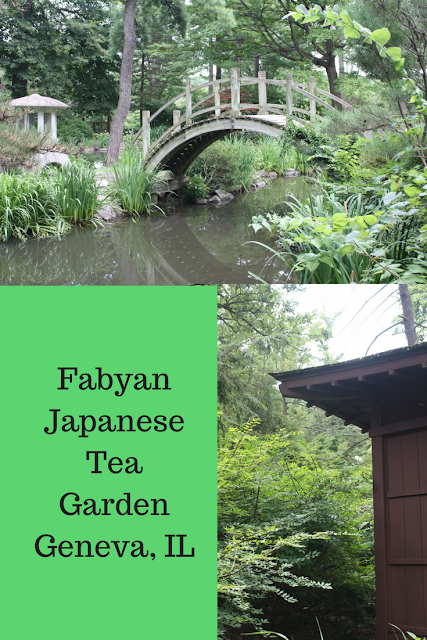 Fabyan Japanese Tea Garden in Geneva, IL