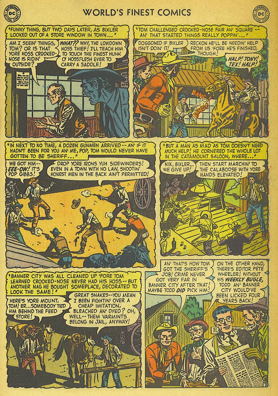 Read online World's Finest Comics comic -  Issue #57 - 35