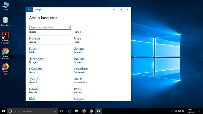 Les indications sont données ici en français et en anglais. À vous de faire la traduction si Windows est dans une autre langue. Cliquez sur le bouton Démarrer puis sur Paramètres ( Settings ). Cliquez sur Heure et langue ( Time & language ).