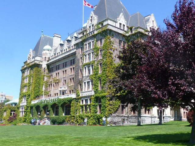 the Fairmont Empress Victoria Canada