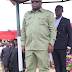 Photos of Abia State Governor, Ikpeazu dressed in made-in Aba NYSC uniform