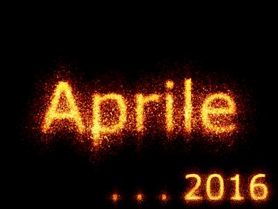 Post riepilogativo del mese di Aprile 2016