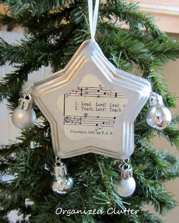 Repurposed Jello Mold Ornaments