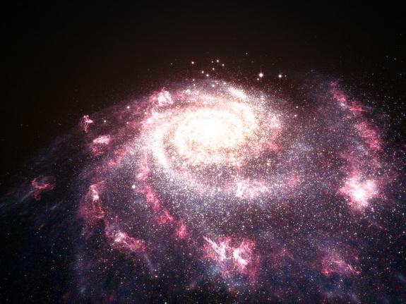Imagem: Caos na galáxia