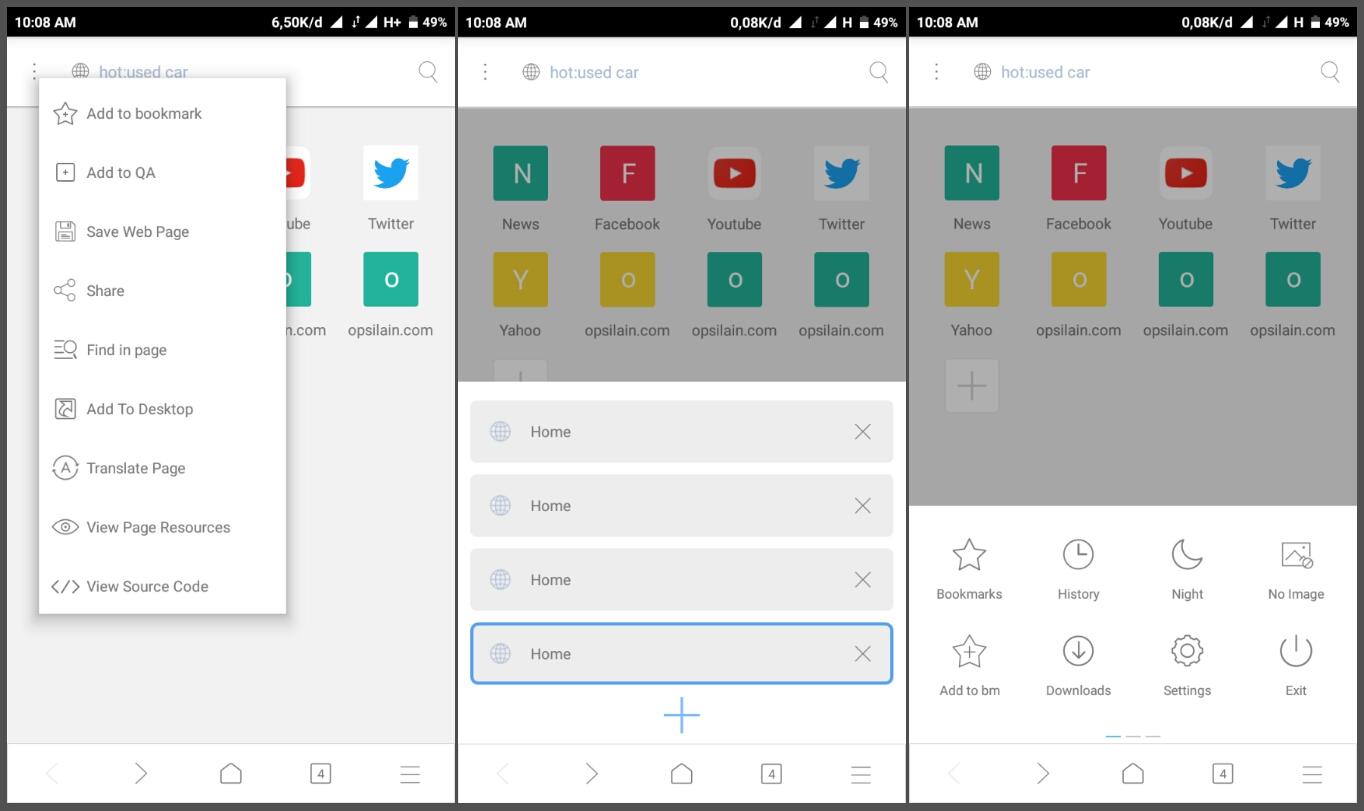 Ini Browser Android Terbaik Cepat Ringan Dan Tanpa Berita Di Home