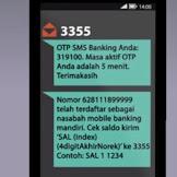Cara Daftar SMS Banking Mandiri Melalui ATM