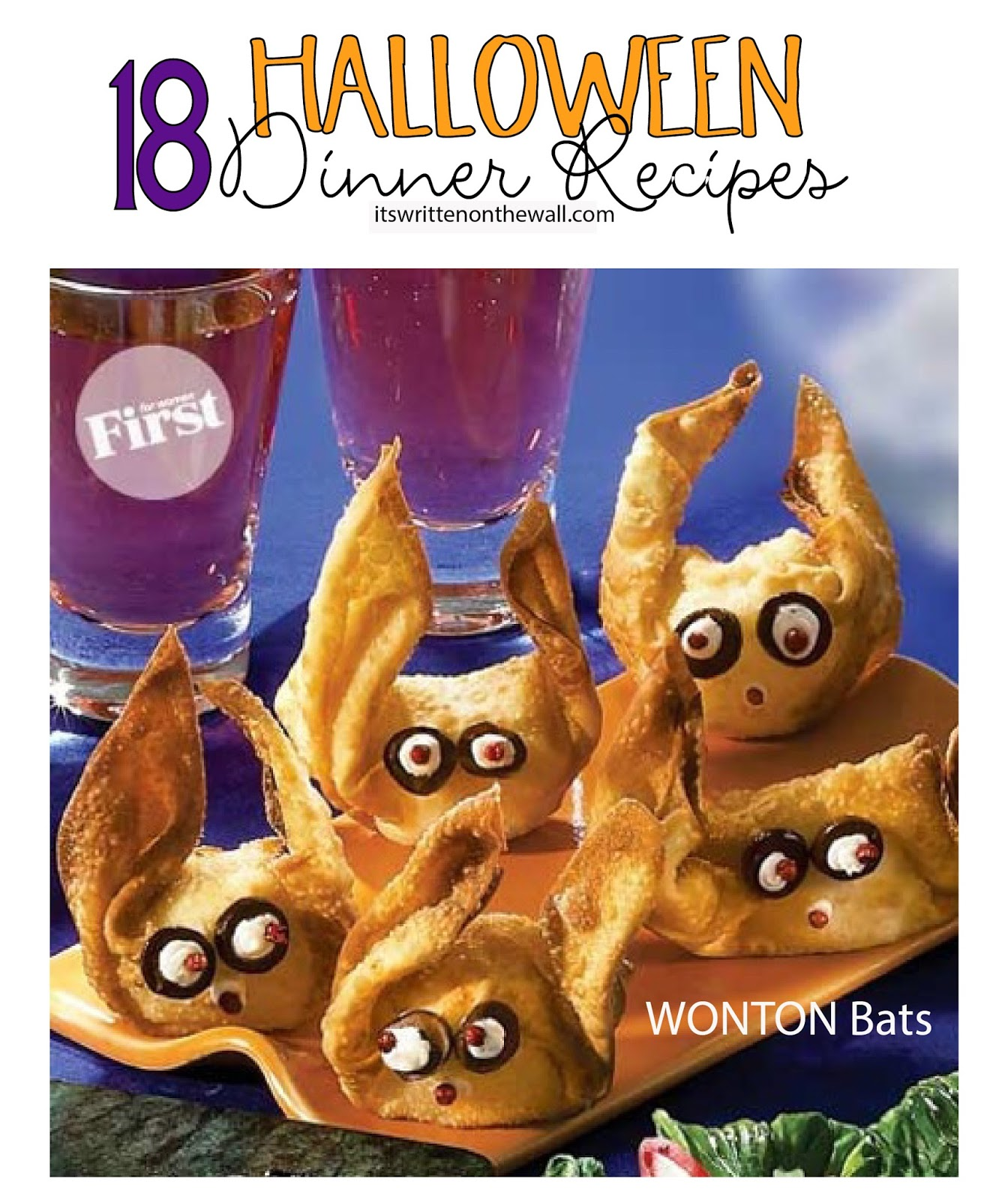 weve rounded up 18 yummy fun halloween dinner recipes have you see these - Halloween Dinner Kids